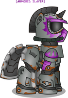 Custom Power Armor by ArmoredSlayer