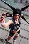 Yuffie cosplay-Advent Children