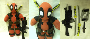 Deadpool Plush by Shogun95
