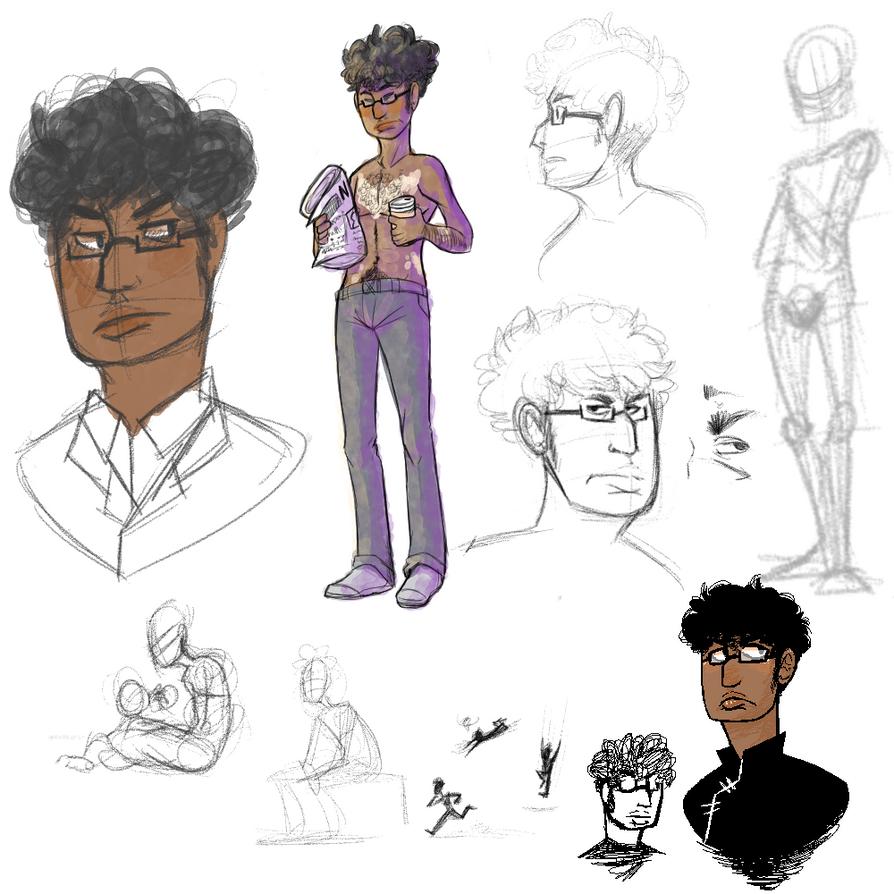 Bernard redesign scribbles by Stais