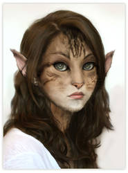 Furry Girl by JachymKuikka