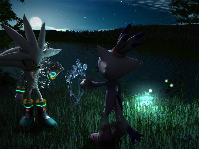 Silver's psychokinesis by ShadowHedgehogRus
