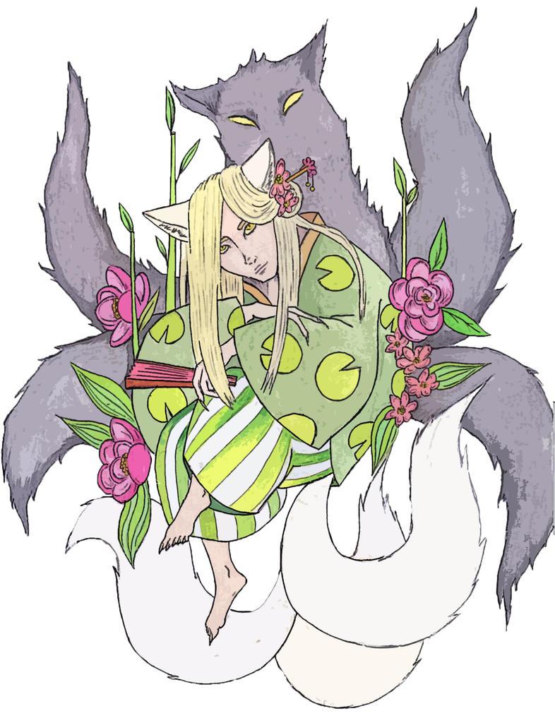 Kitsune by SophieMorgan