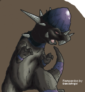 Epic Rampardos by Rorousha