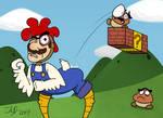 Chicken-Suit Mario