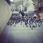 Poor man in Paris