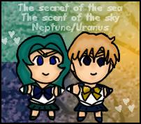 Chibi Neptune and Uranus Plush by Myztic-Beauty