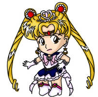 Princess Sailor Moon by Myztic-Beauty