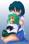 Sailor Mercury and Plushie