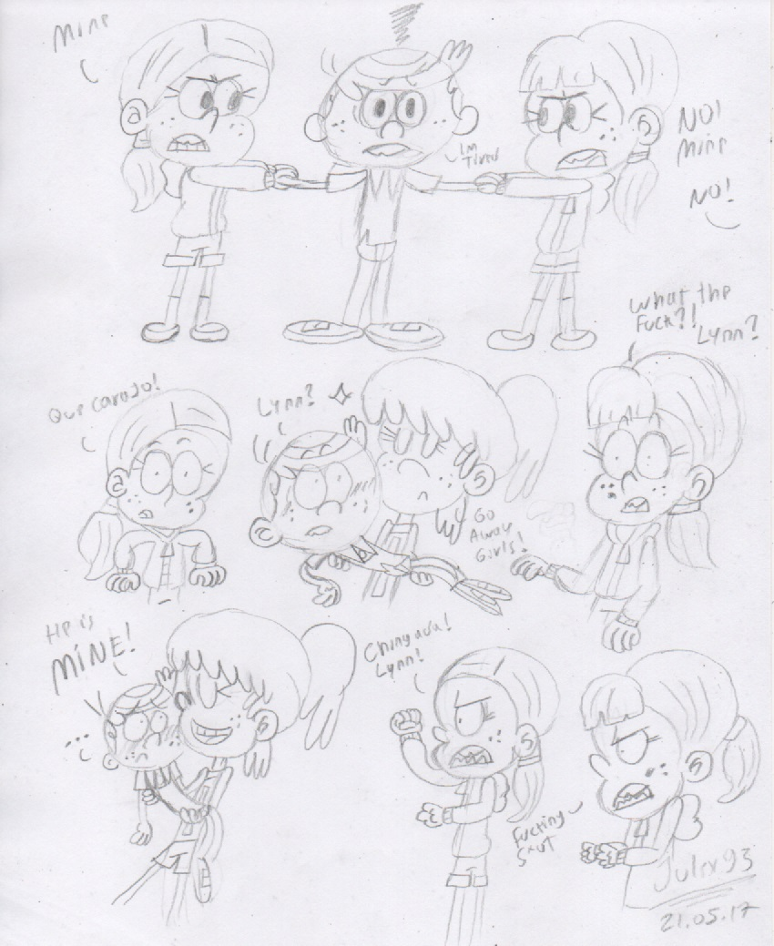 The Loud House Favourites By Megad3 On Deviantart