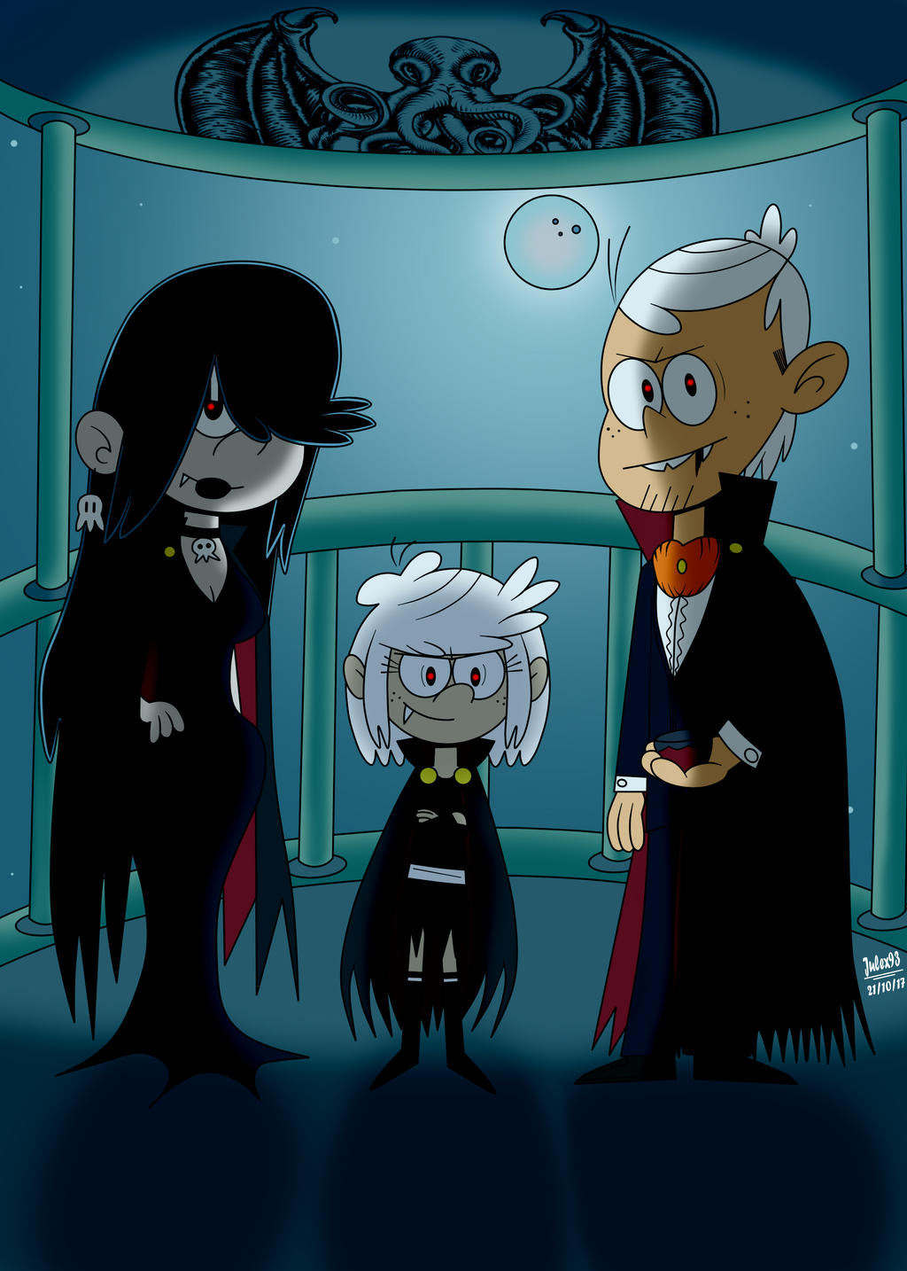 The Vampire Family Remake Color By Julex93 On Deviantart
