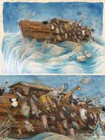 Noah, Leaving the ship by macen