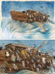 Noah, Leaving the ship