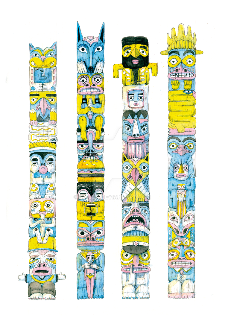 The Totems by macen