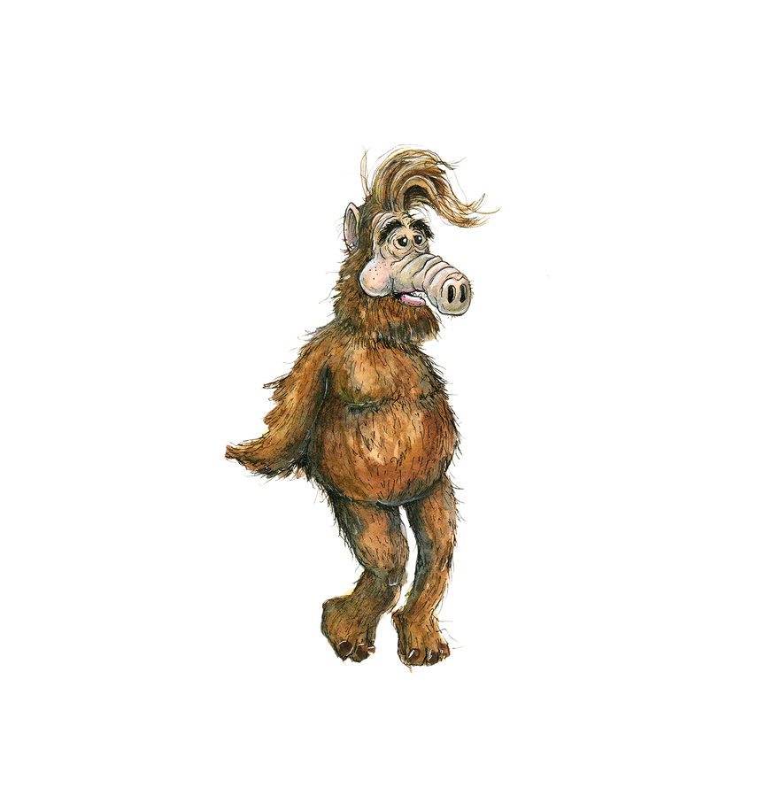 Childhood Totems - Alf by macen