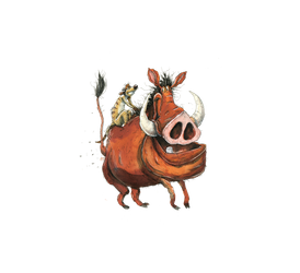 TimonPumbaa by macen