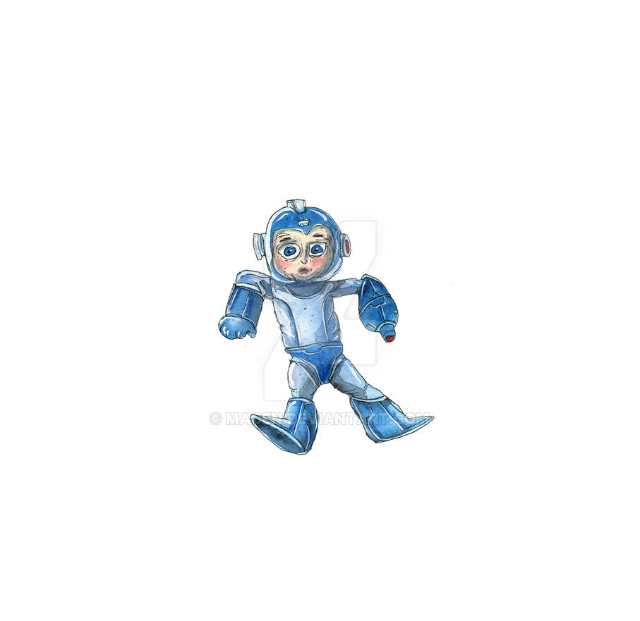 Megaman by macen