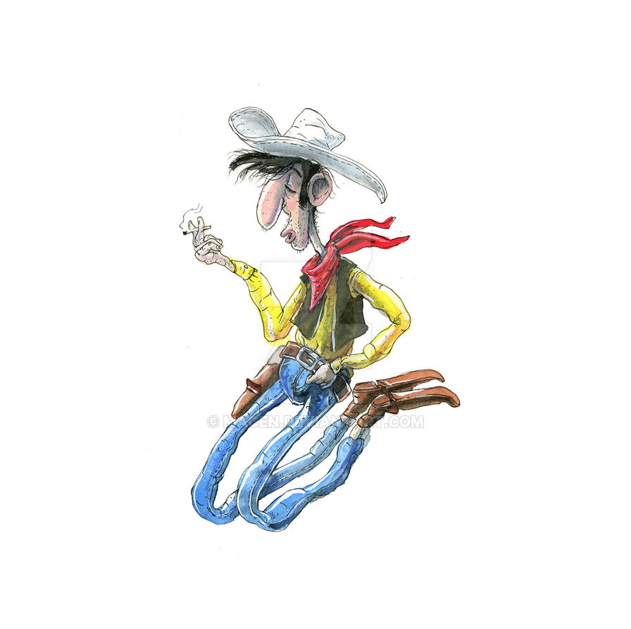 LuckyLuke by macen