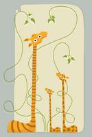 giraffes by macen