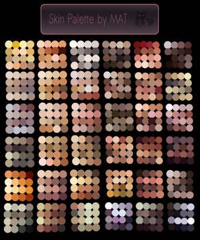 Skin Palette for MyPaint V2