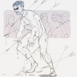 Bass Terror Sketch by MeryAlisonThompson