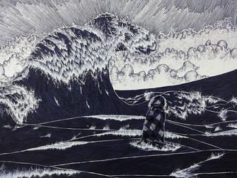 The Sea (I) by MeryAlisonThompson
