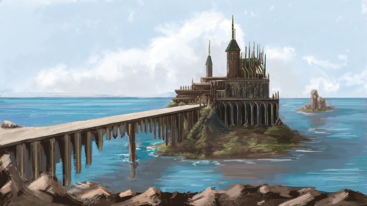 Castle Island by psychoroll