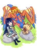 Monster Hunter Stories! by Shima-Rin