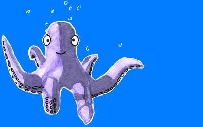 Cutest octopus evar. by BareFootRebel