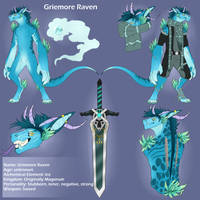 Griemore Raven by Fate-Aeternum