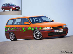 Opel Vectra-Lame Virt Tuning
