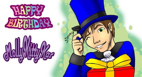 Happy Birthday MKK by Cocoaprints