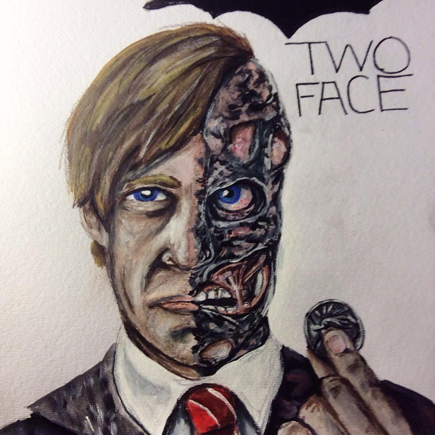 Two Face by greenstables