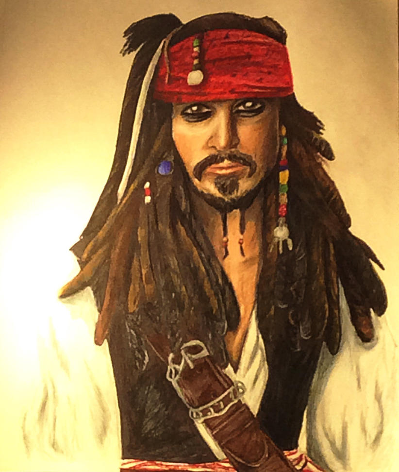 Jack Sparrow by greenstables