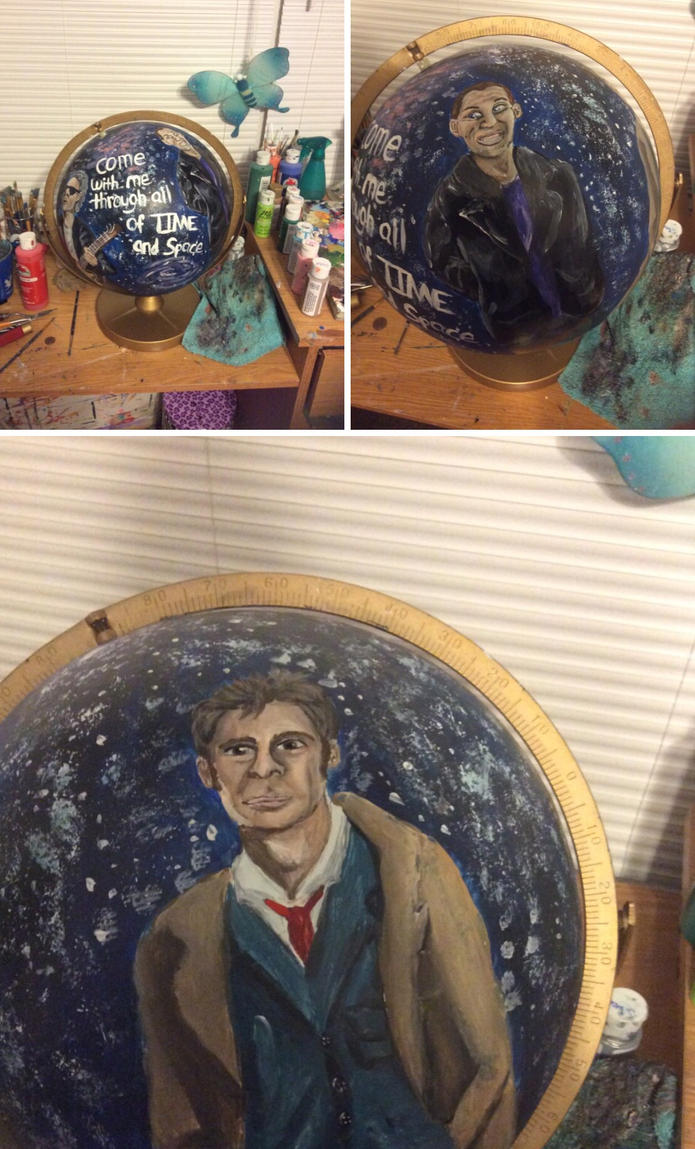 Doctor Who globe by greenstables
