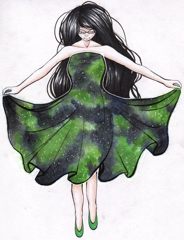 3am dress (Redraw) by Sapphacus