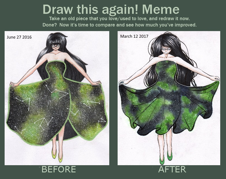 Draw This Again - 3am Dress by Sapphacus