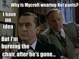 Silly Mycroft! by MrsJokerQuinn