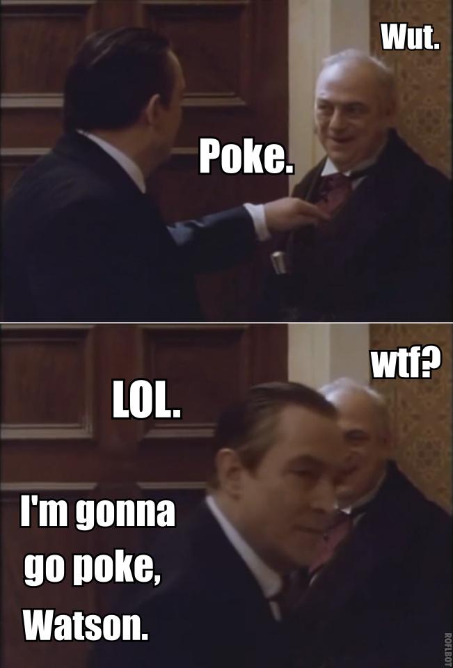 Sherlock Holmes meme by MrsJokerQuinn