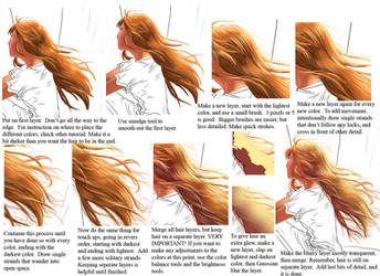 Coloring Hair realistic