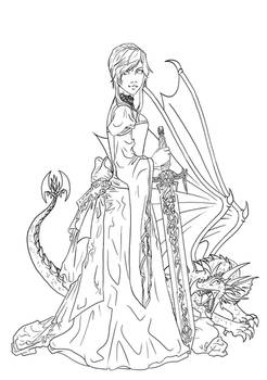 Dragon and the Maiden