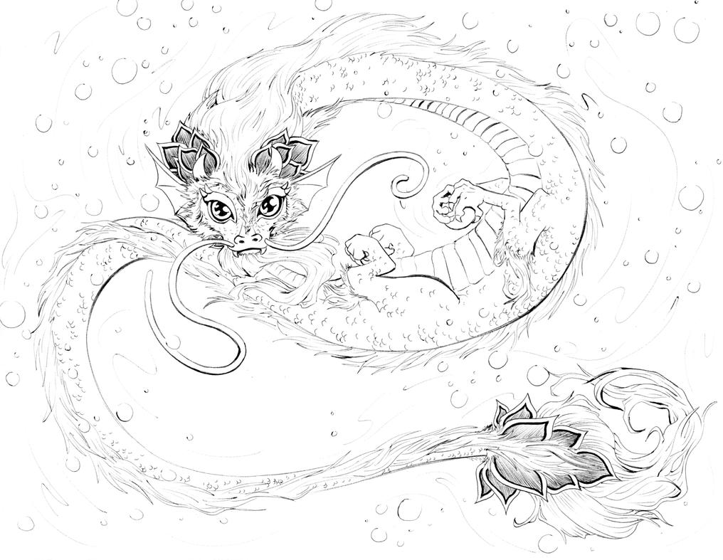 element coloring pages | Four Elements: Water by manic-goose on DeviantArt