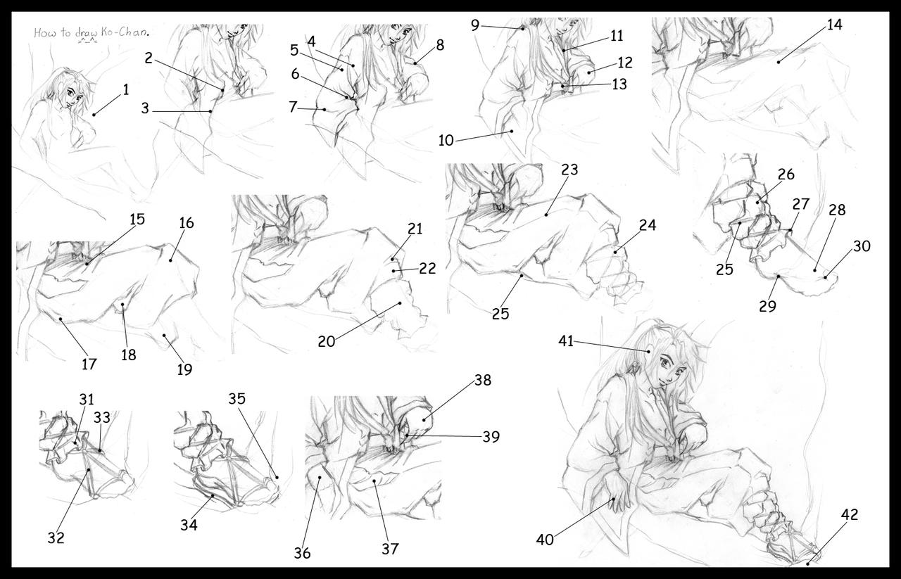 It is an image of Ambitious Drawing Clothes Tutorial