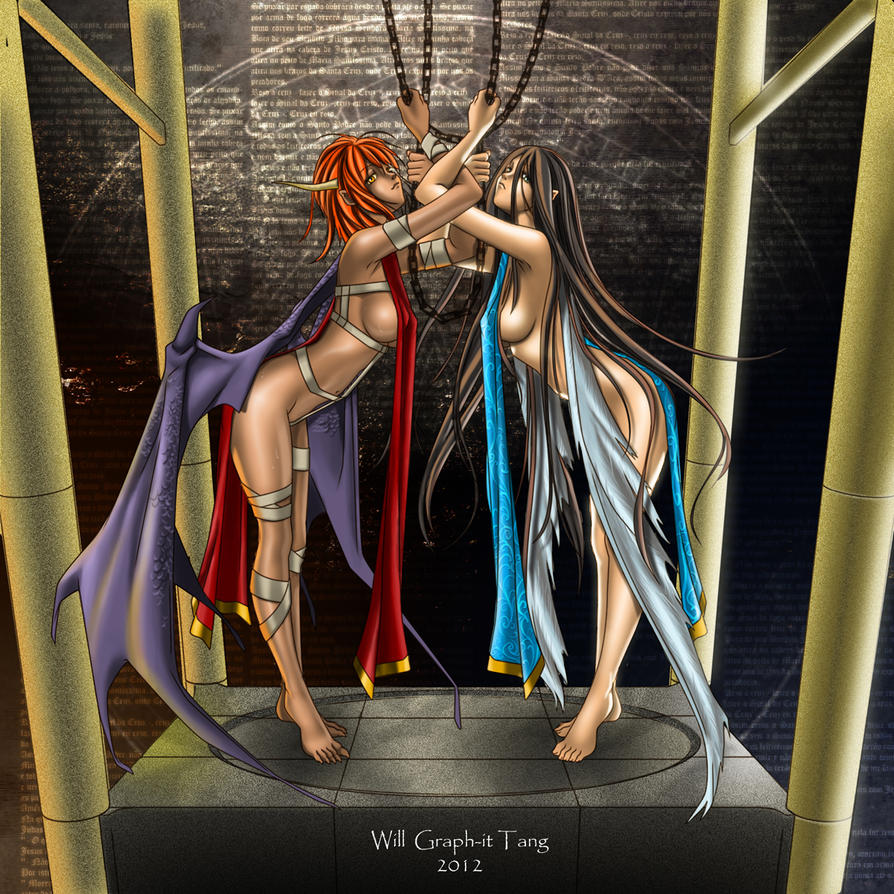 Anjos E Demonios By Graphit-Will On DeviantArt