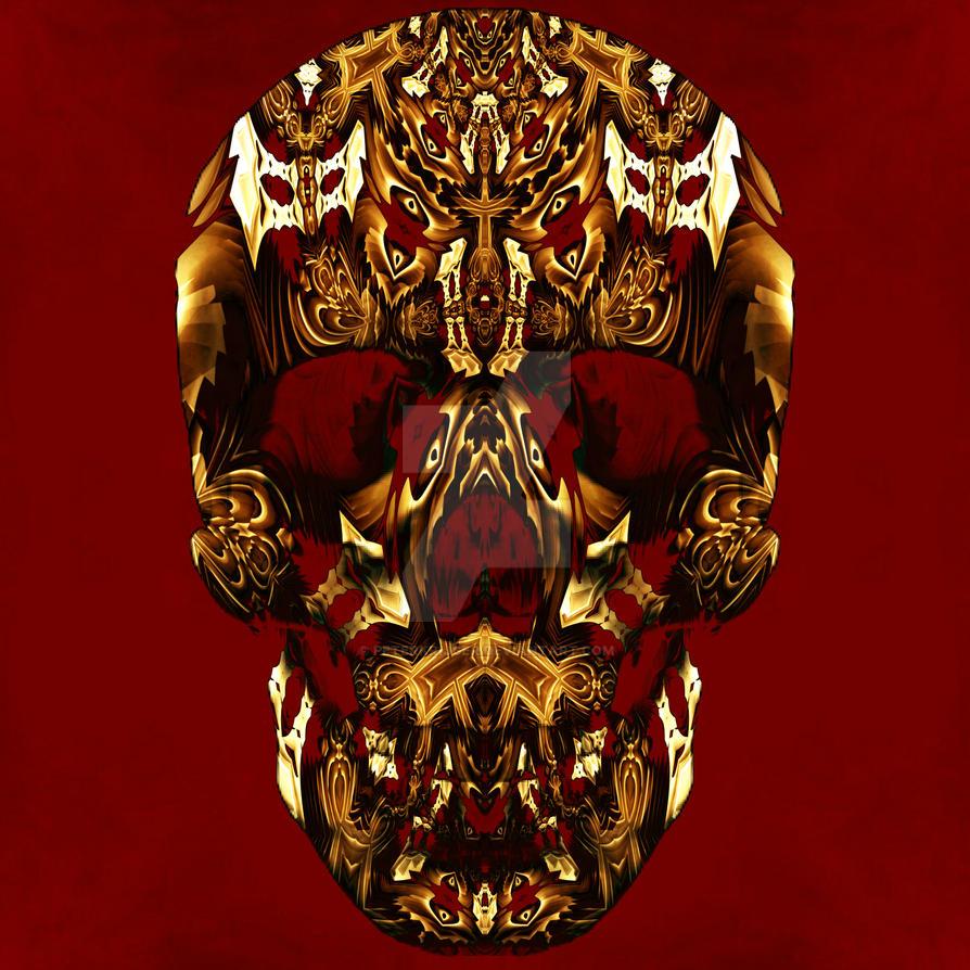 fractal skull10 by ordoab
