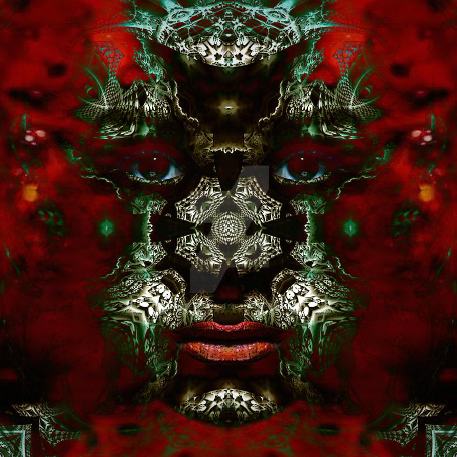 fractal face23 by ordoab