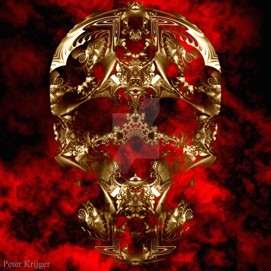 fantasy skull 81 by PeterKrijger