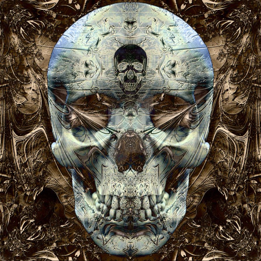 fantasy skull 82 by PeterKrijger