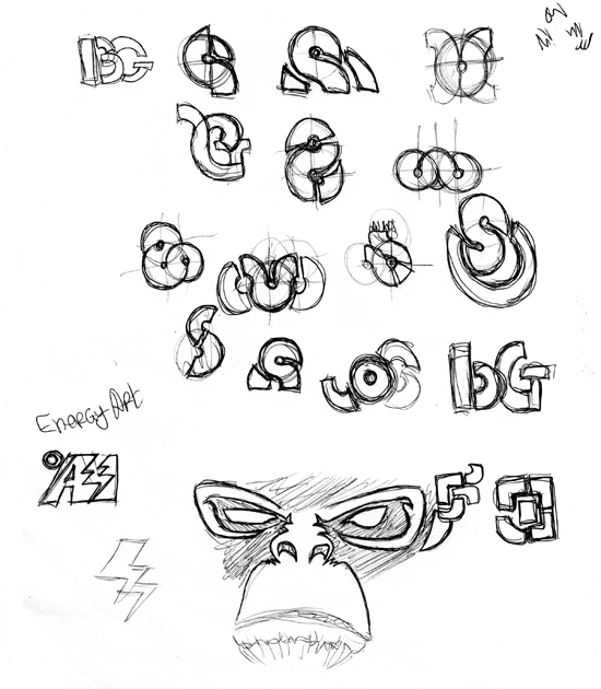 Logo Sketch by PiKiNiOuF