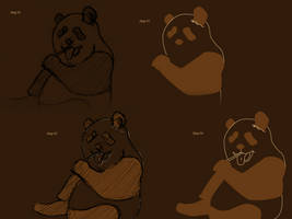 WIP Panda Vector Wall by PiKiNiOuF
